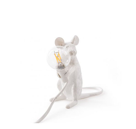 Seletti -  Lampe Mouse - Assise - White