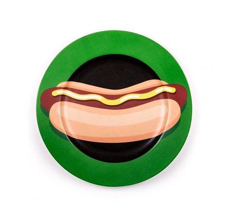 SELETTI - Studio Job - Blow - Assiette - Hot Dog