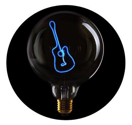 MITB - Ampoule message - Guitare - Transparent