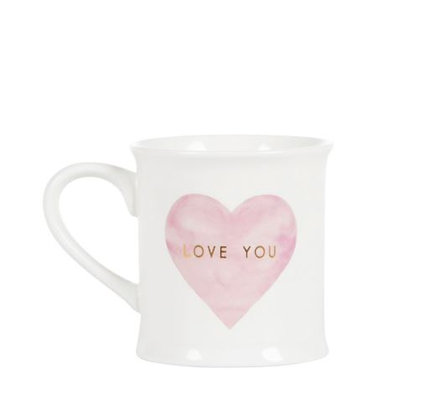 Sass & Belle - Mug - Coeur Love You