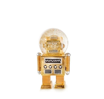 Donkey - Boule à paillettes -The Robot - Gold