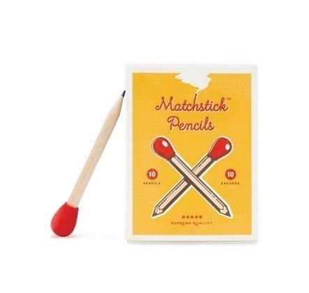 Luckies - Boite de Crayons Allumettes – Matchstick Pencils