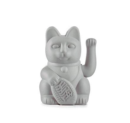 Maneki Neko - Lucky Cat - Grey