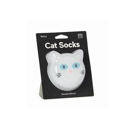 Doiy – Chaussettes - White Cat