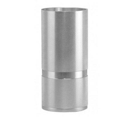 MITB - Socle Lampe de Table - Madison - 160 mm - Argent