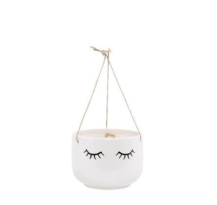 Sass & Belle - Cache-pot suspendu - Eyes White