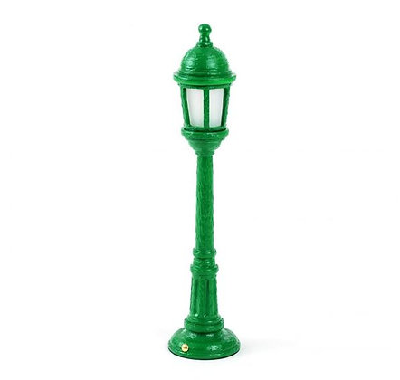 Seletti - Lampe rechargeable - Street Lamp Dining - Green