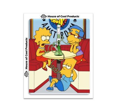 Blue Shaker - Cartoons - Simpson Bang