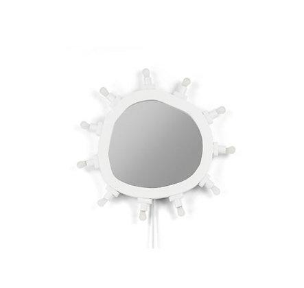 Seletti -  Miroir Lumineux - Blanc PM
