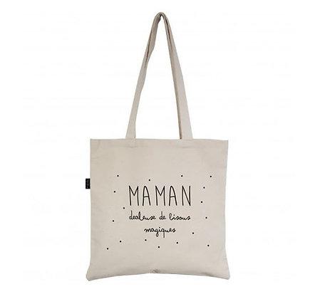 Marcel & Lily - Tote Bag - Maman Dealeuse de bisous Magiques