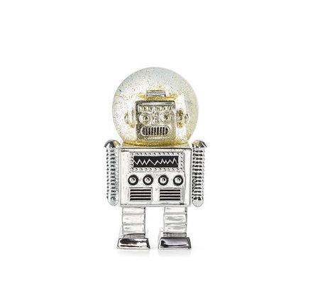 Donkey - Boule à paillettes -The Robot - Silver