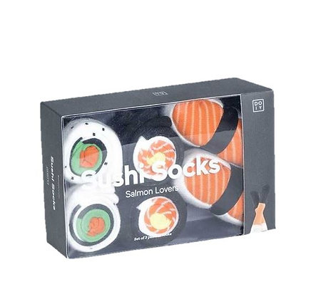 Doiy – Chaussettes - Sushi Box Salmon Lovers