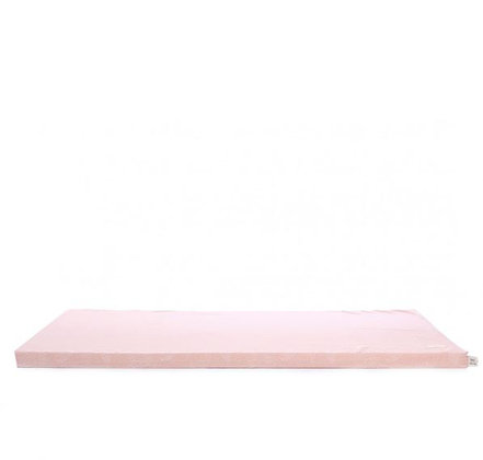 Nobodinoz - Tapis de Jeux - St Barth - White Bubble Misty Pink