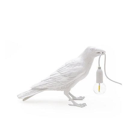 Seletti -  Lampe Bird - Debout - White