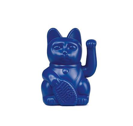 Maneki Neko - Lucky Cat - Dark Blue