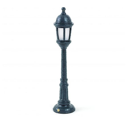 Seletti - Lampe rechargeable - Street Lamp Dining - Black