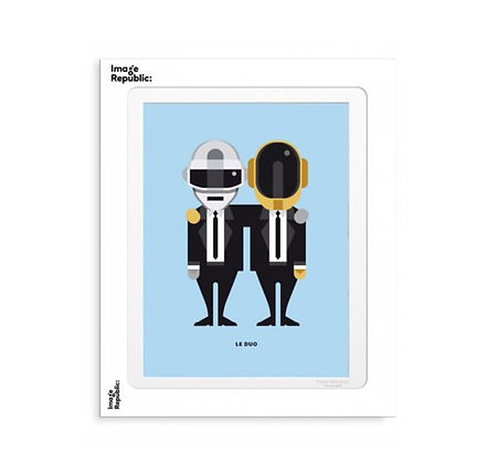 Image Republic - Le Duo - Solo 10 Daft Punk
