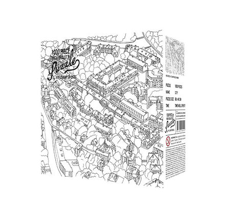 Hygge Games - Puzzle - Croquis ville