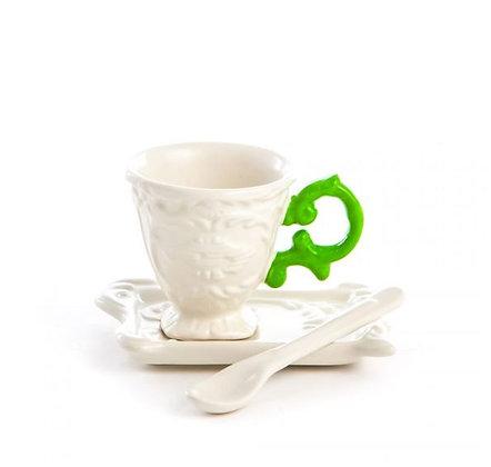 SELETTI - I-Ware  - I-Coffee - Vert