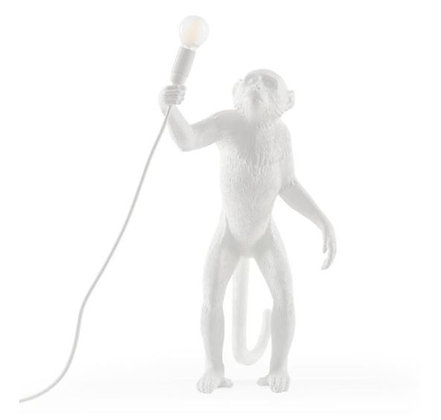 Seletti -  Lampe Monkey - Debout - White