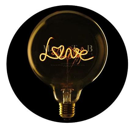 MITB - Ampoule message - Love - Ambré