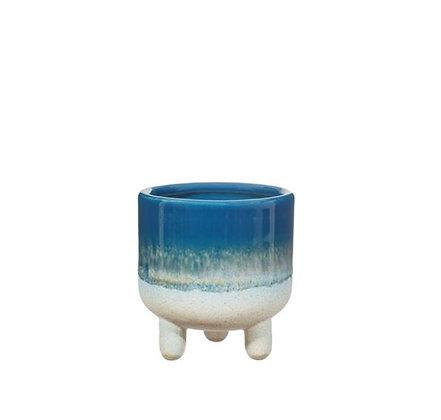 Sass & Belle - Cache-Pot - Mojave - Blue - PM