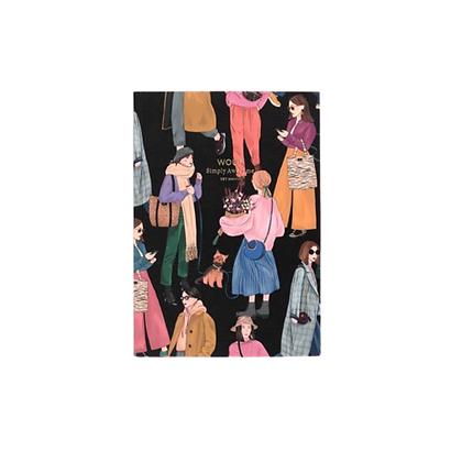WOUF - Cahier Papier A5 - Girls