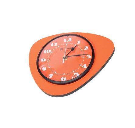 La Carafe - Horloge Médiator - Abricot