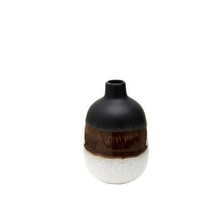 Sass & Belle - Mini Vase - Tie & Dye Noir