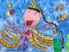 章魚公主-5歲作品