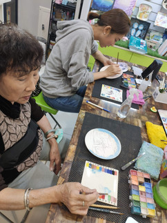 單堂瓷畫課程