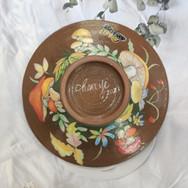 6吋釉下陶盤