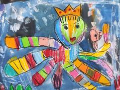 章魚先生-4歲作品