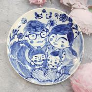 6吋青花瓷盤