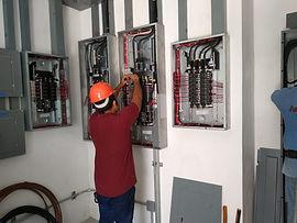 instalación electrica tableros