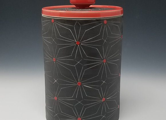 Gothic Flower Canisters (select size/set)