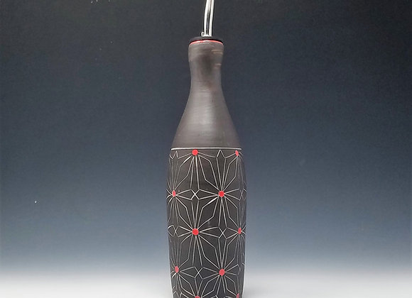 Gothic Flower Oil Bottle