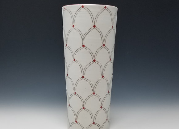 Small Vase with Arch Pattern