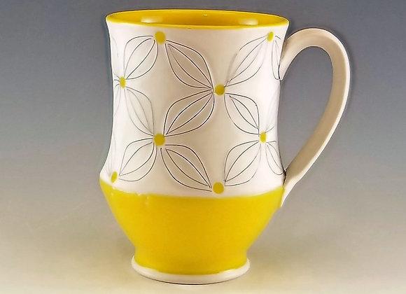 Double Flower Mug