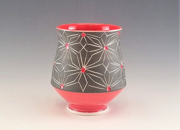 Gothic Flower Tea Cup