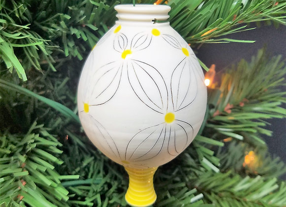 2019 Doulbe Flower Ornament