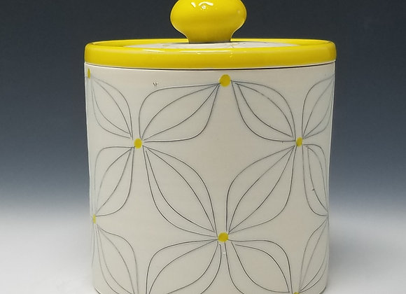 Double Flower Canister (select size/set)