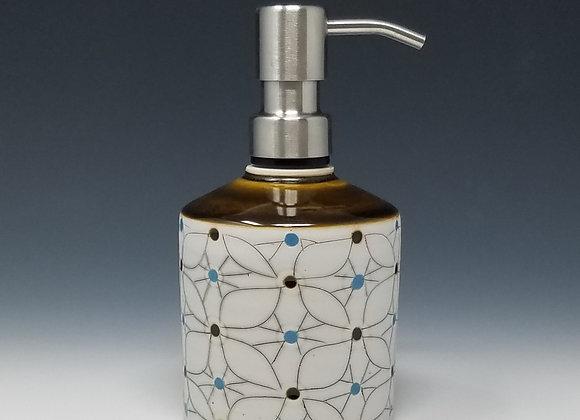 Overlapping Flower Soap/Lotion Bottle Dispenser