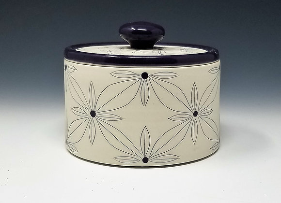 Quad Flower Canisters (select size/set)