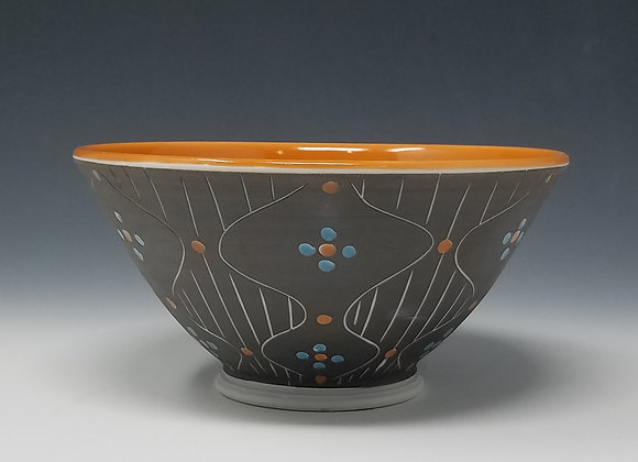 Mid Century Modern Cereal Bowl