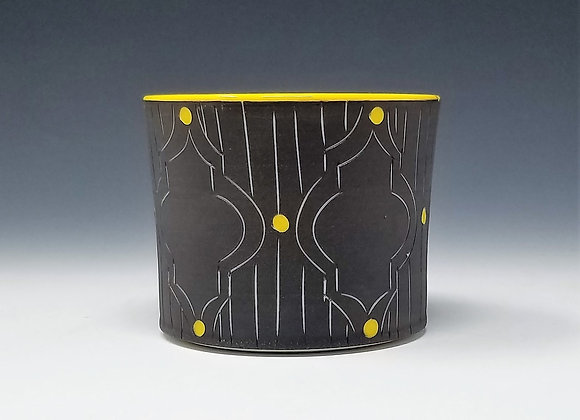 Whiskey Cup with Victorian Pattern