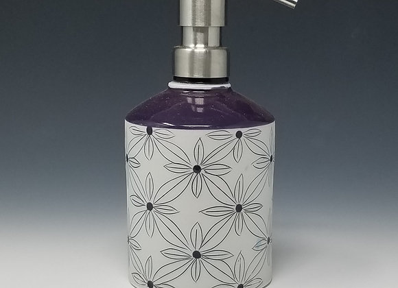 Quad Flower Soap/Lotion Bottle Dispenser