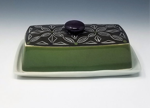 Double Double Butter Dish