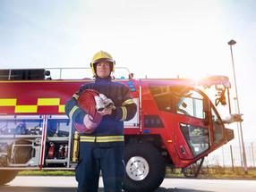Midlertidig brannstasjon på grusbanen 2019-21
