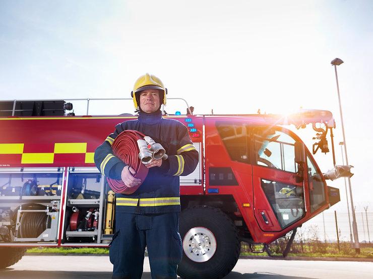 Fire alarm installation training for firemen